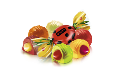 Желейні цукерки Сонячний Жук Рошен 1кг