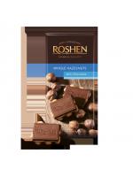 Шоколад Roshen молочний з цілим лісовим горіхом 90г