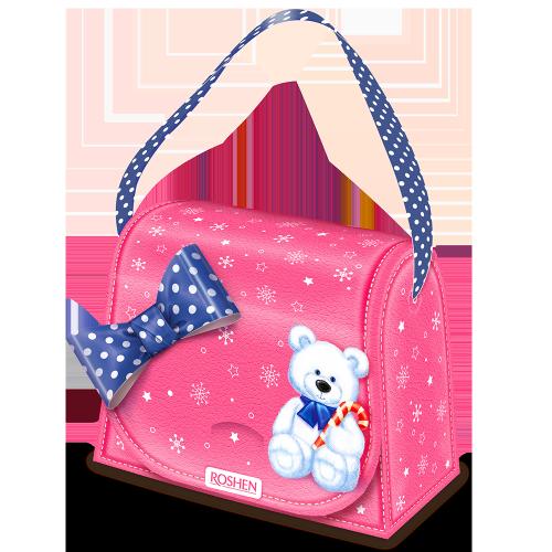 Новорічний подарунок ROSHEN №3 Новорічна сумочка 309г