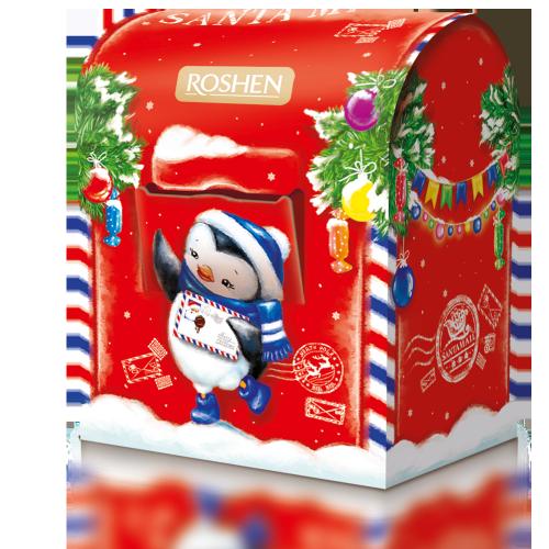 Новорічний подарунок ROSHEN №7 Пошта Санти 380г