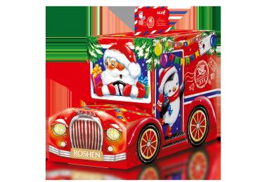 Новорічний подарунок ROSHEN №4 Автомобіль Санти 309г