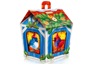 Новорічний подарунок ROSHEN №14 Годівниця для птахів 872г