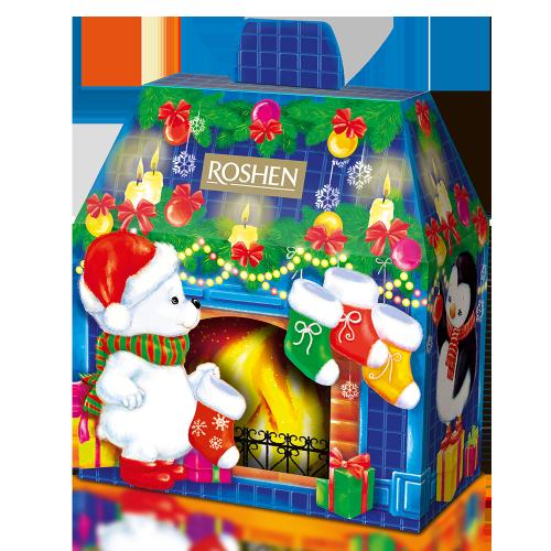 Новорічний подарунок ROSHEN №11 Новорічний камін 599г