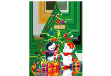 Новорічний подарунок ROSHEN №6 Новорічна ялинка 380г