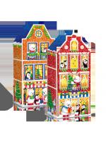 Новорічний подарунок ROSHEN №10 Казкові будиночки 567г