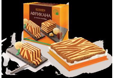 Торт Африкана Рошен 1кг