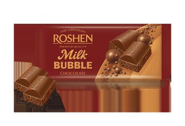 Шоколад пористий молочний Рошен 80г