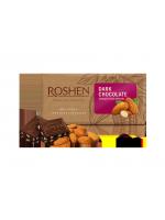 Шоколад Roshen чорний з підсоленим мигдалем 90г