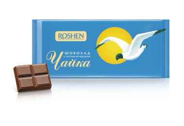 Шоколад Чайка Рошен 90г