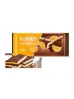 Шоколад Roshen молочний з апельсиновою нугою 90г