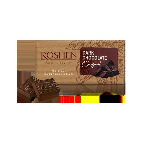 Шоколад Roshen чорний Original 90г
