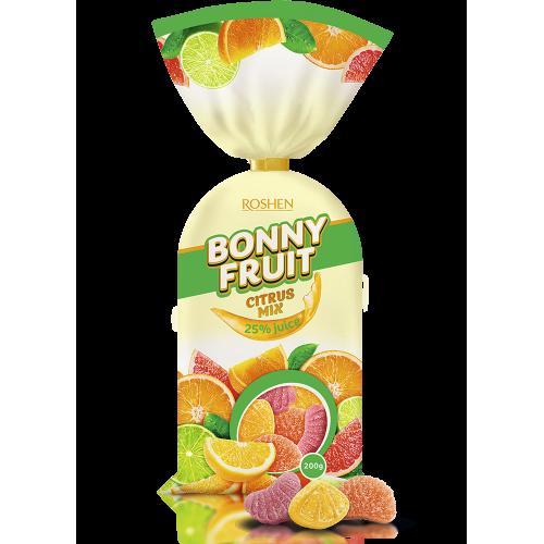 Желейні цукерки Bonny-Fruit цитрусові фрукти Roshen 200г