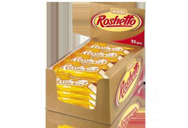Вафельний батончик Roshetto Milk chocolate 34г