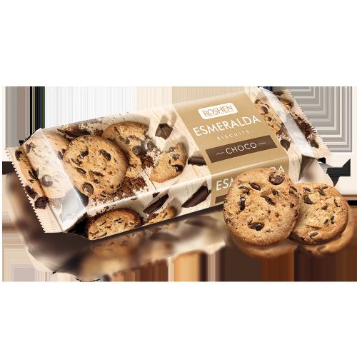 Печиво Есмеральда з кусочками глазурі 150г