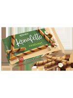 Вафельні трубочки Konafetto з горіховою начинкою 140г