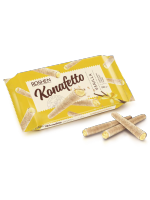 Вафельні трубочки Konafetto з ванільною начинкою 140г