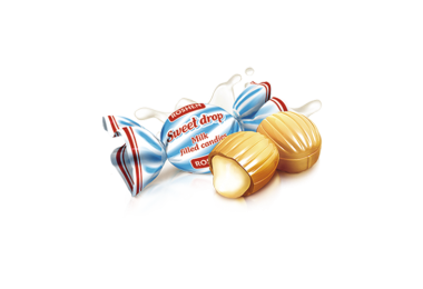 Карамель Молочна крапля Рошен 1кг