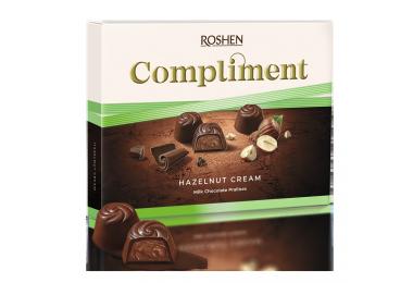 Цукерки   Compliment Hazelnut cream 122г