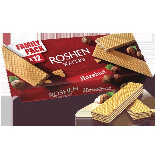 Вафлі Roshen Wafers горіх 216г