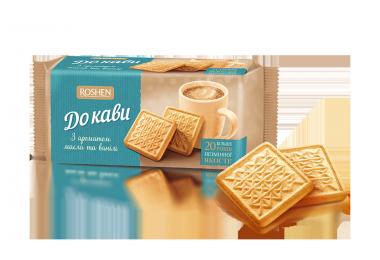 Печиво До кави масло-ваніль Рошен 185г