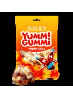 Желейні цукерки Yummi Gummi Funny Cola 100г