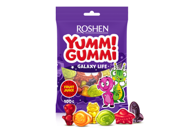 Желейні цукерки Yummi Gummi Galaxy Life 100г