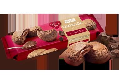 Печиво Есмеральда Soft heart Choco 170г
