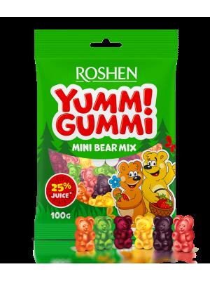 Желейні цукерки Yummi Gummi Mini Bear Mix 100г