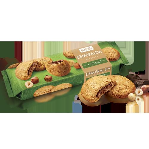 Печиво Есмеральда Soft heart hazelnut 170г