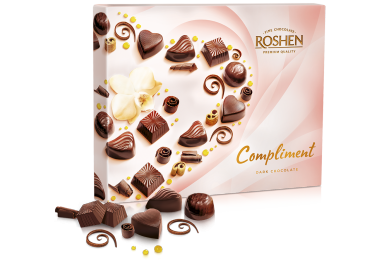Цукерки Сompliment Dark chocolate 145г