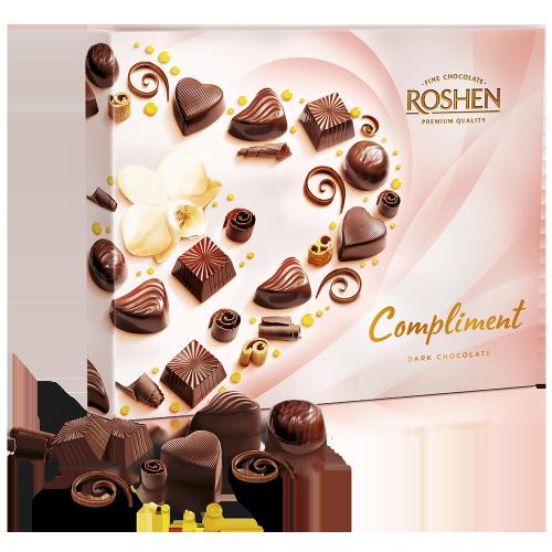 Цукерки Сompliment Dark chocolate 145г
