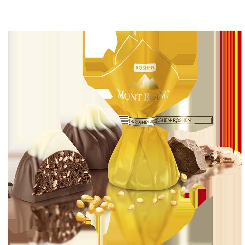 Цукерки Монблан з шоколадом і сезамом 0,5кг