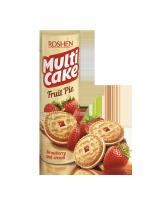 Печиво-сендвіч Multicake з начинкою полуниця-крем 195г
