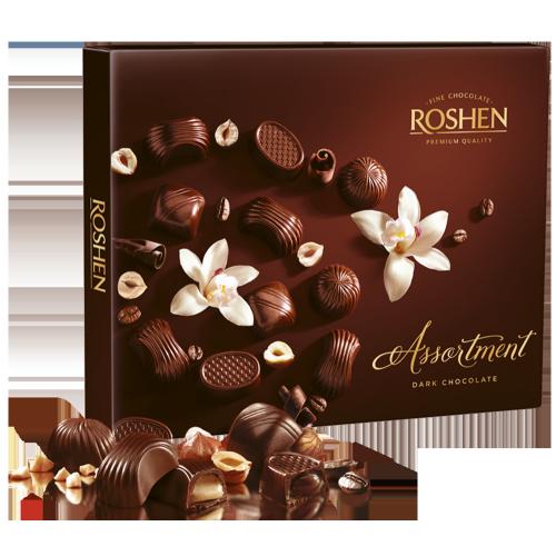 Цукерки Roshen Assortment classic Dark chocolat