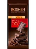 Шоколад Roshen чорний 56%, 85г