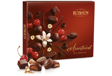 Цукерки Roshen Assortment Elegant milk chocolate