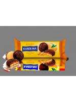Печиво Roshen Karolina з желейною начинкою зі смаком апельсину 135г