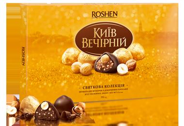 Цукерки Київ Вечірній Gold 352г