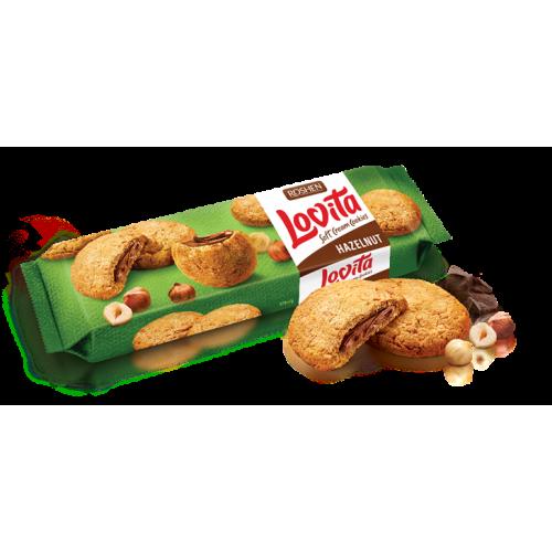 Печиво Lovita Soft Cream Cookies hazelnut 170г
